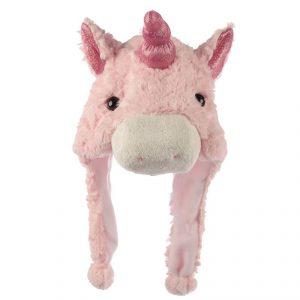 cute pink unicorn hat
