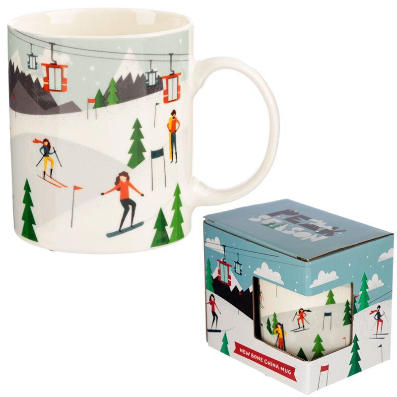 Ski Mug in box