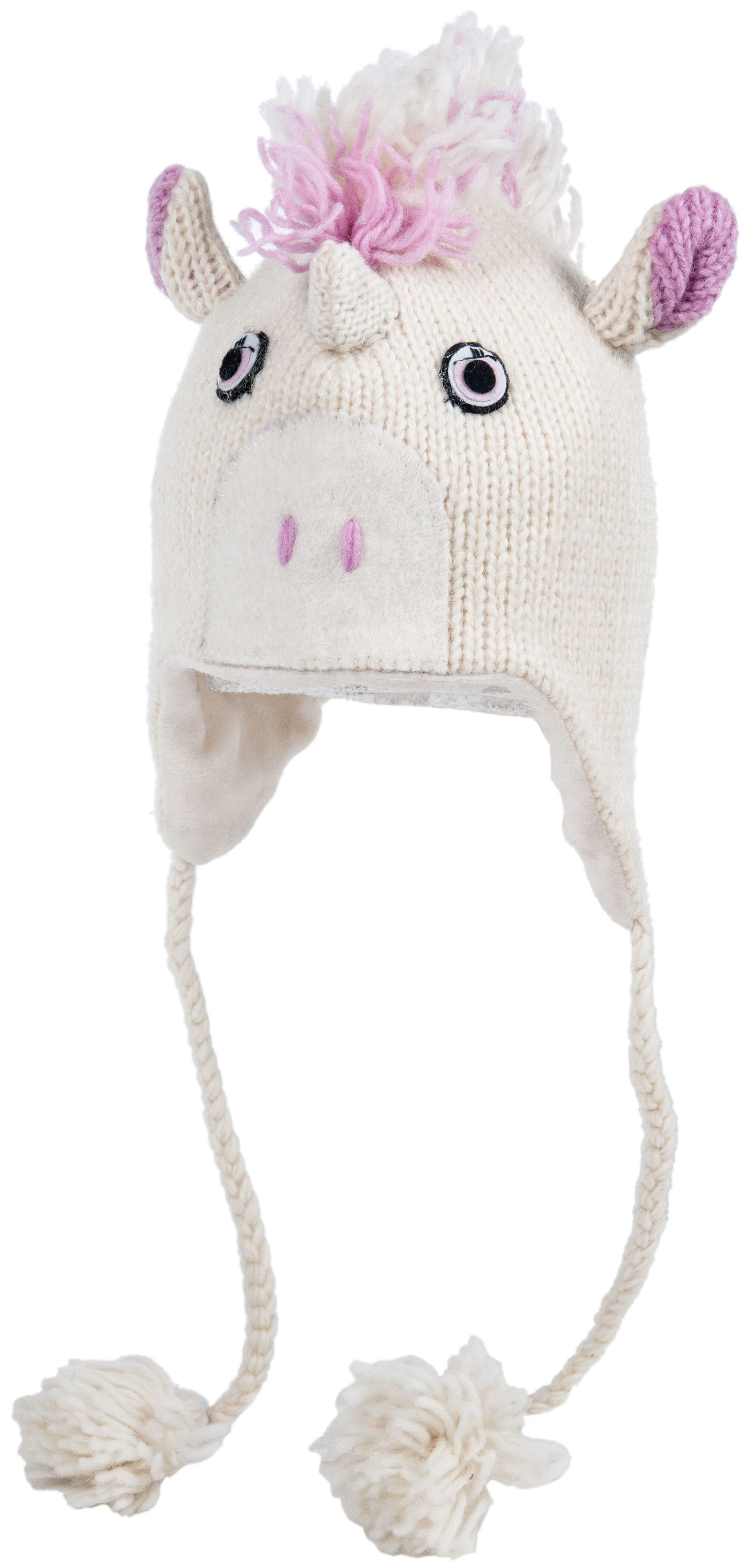 cute unicorn knitted hat
