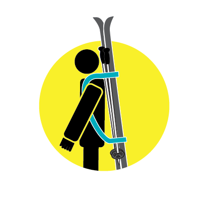 Yellow Ski Man Icons-01