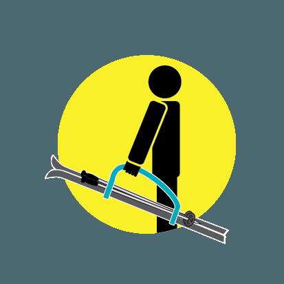Yellow Ski Man Icons-02