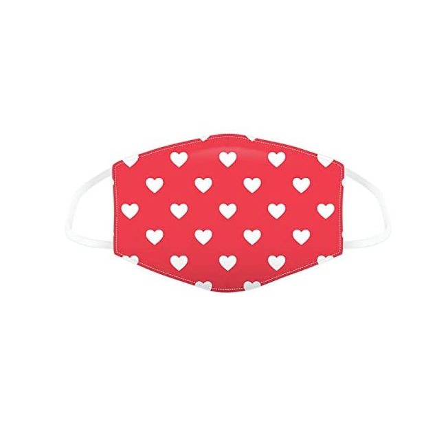 Heart Face Mask S
