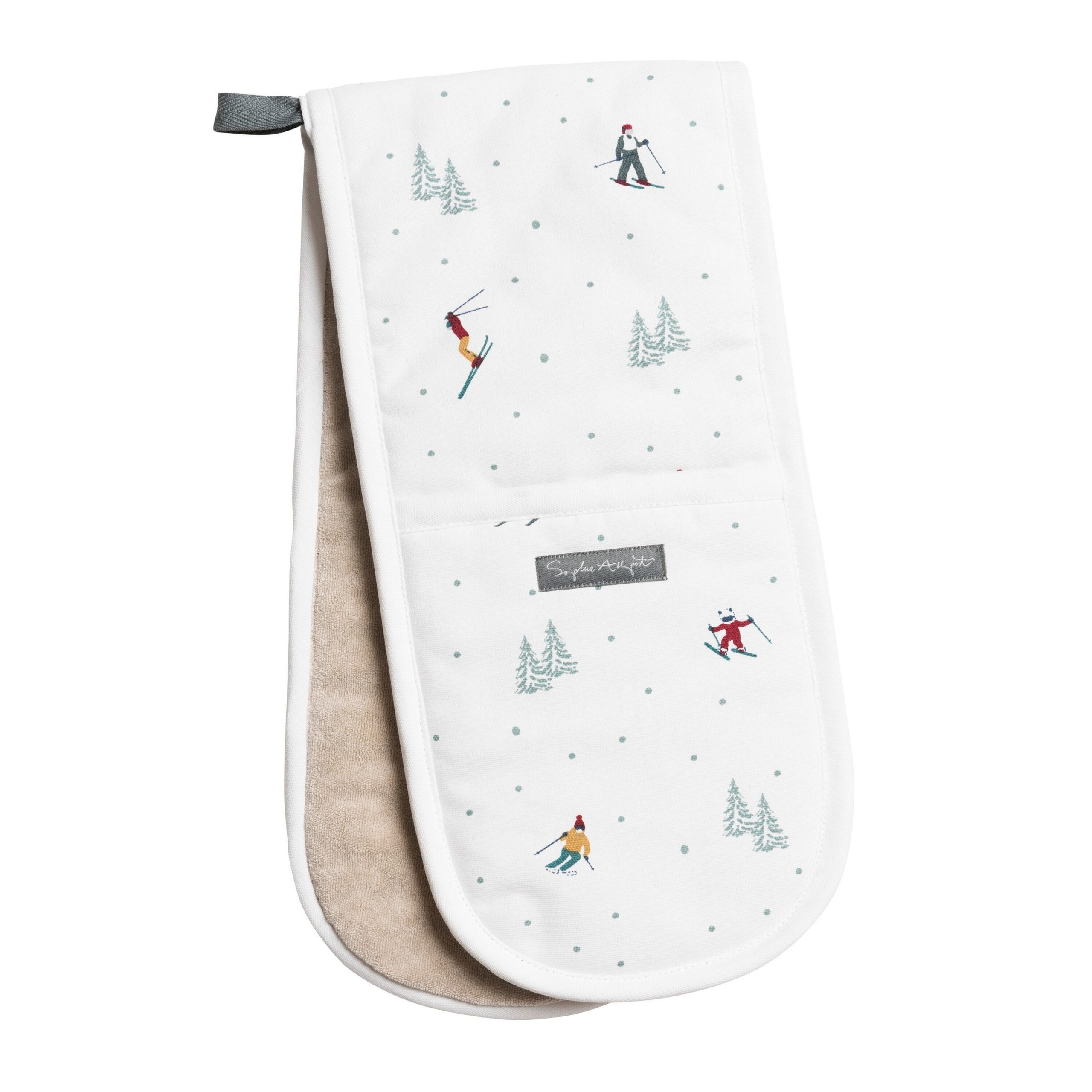 Ski Themed Oven Gloves