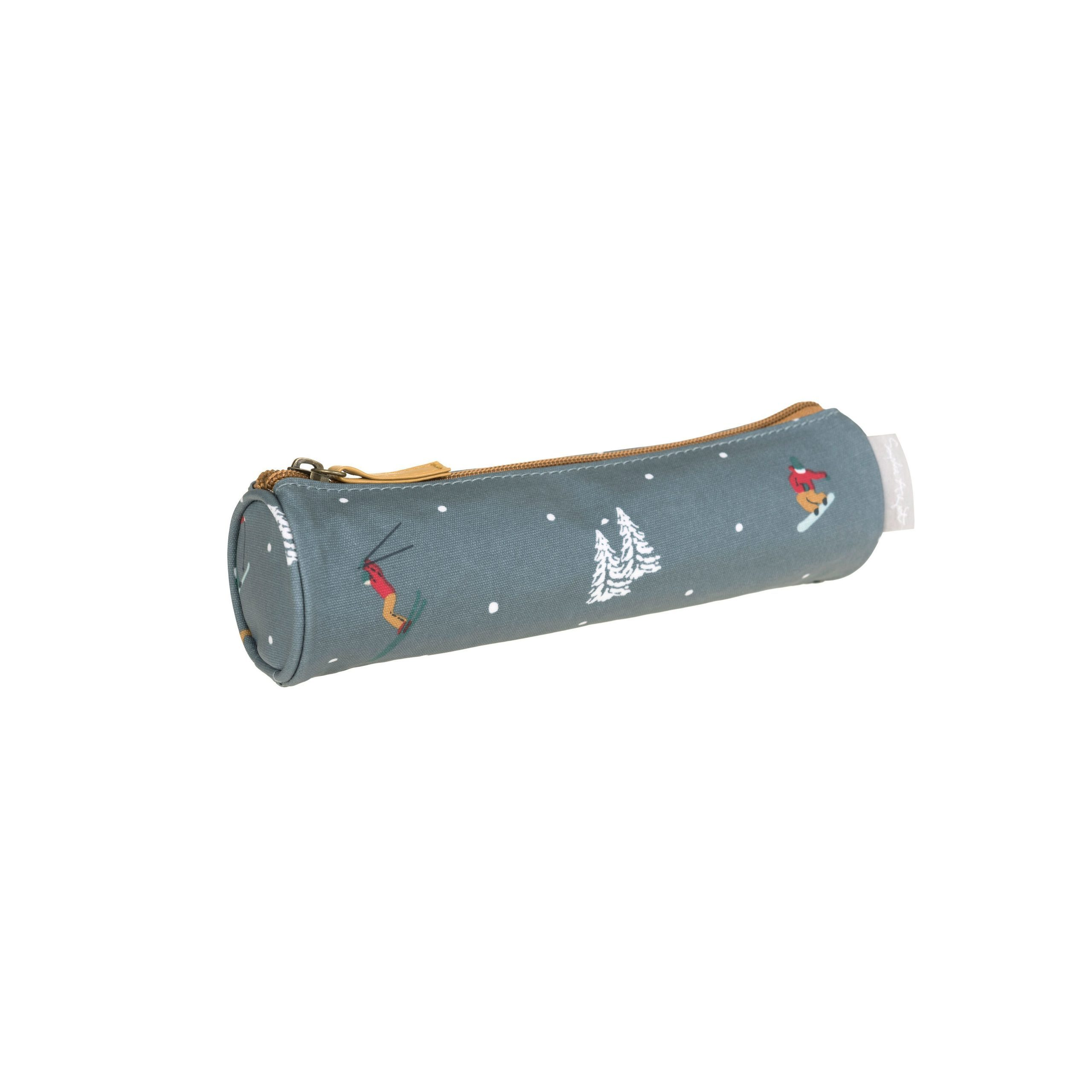 Skiing Pencil Case