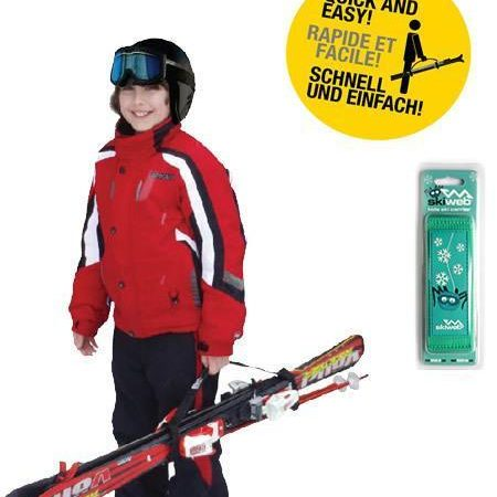 childs snow ski carrier strap