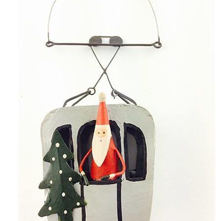 Santa's Silver Cable Car