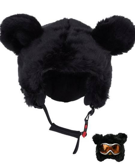 black bear ski helmet cover