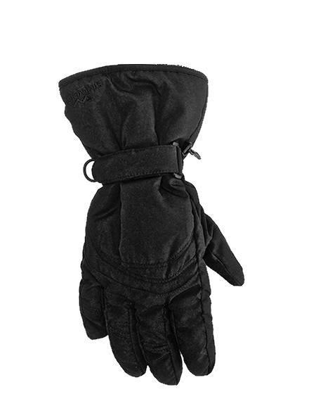 cheap black ski gloves