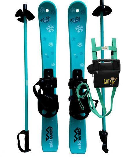 kids plastic skis