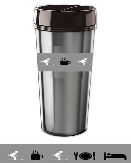 ski mug