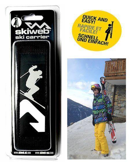 hands free ski carrier
