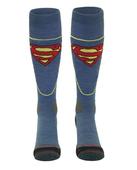 superman ski socks